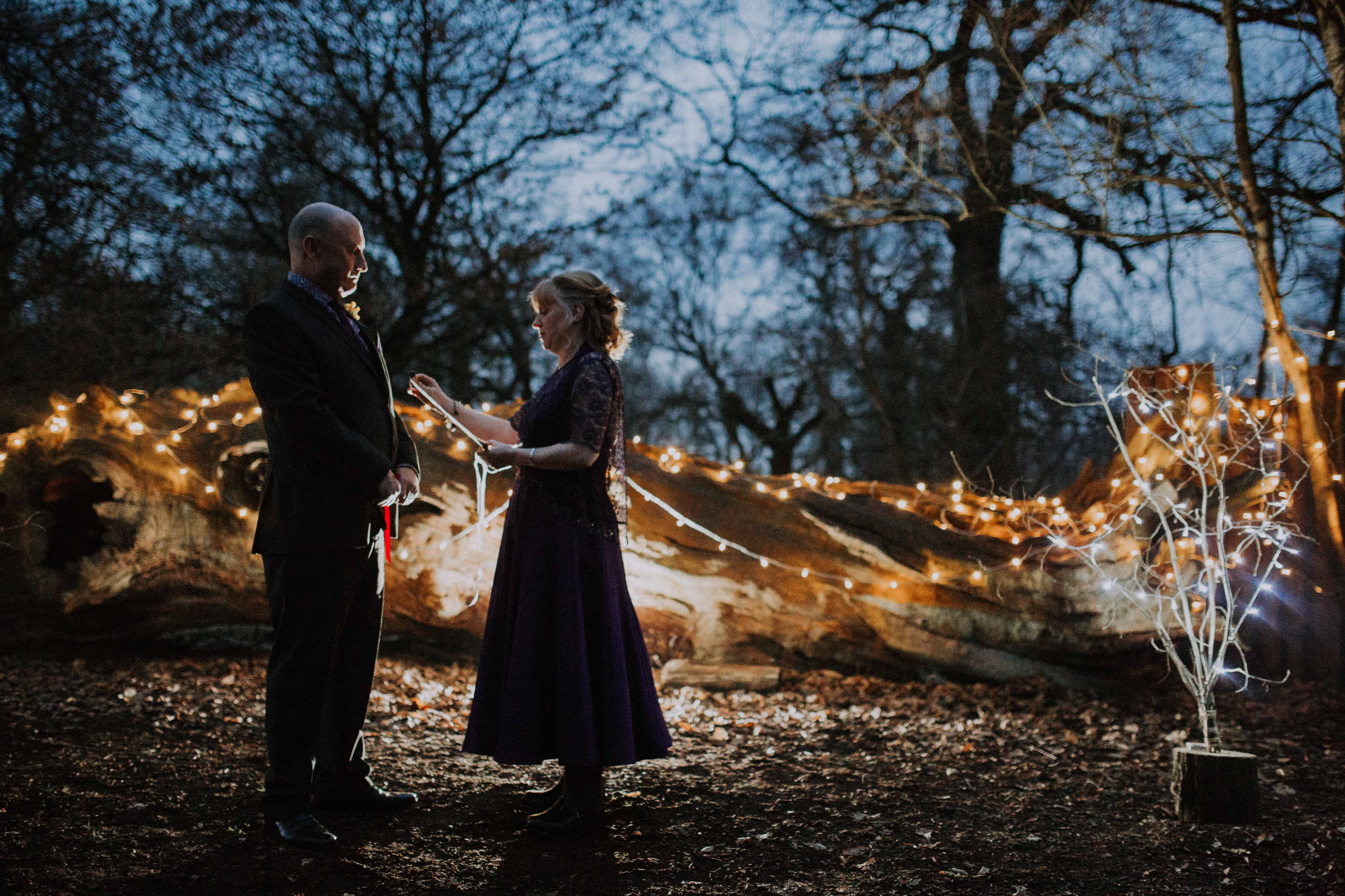 Debs & Daryl's Outdoor Sherwood Forest Wedding