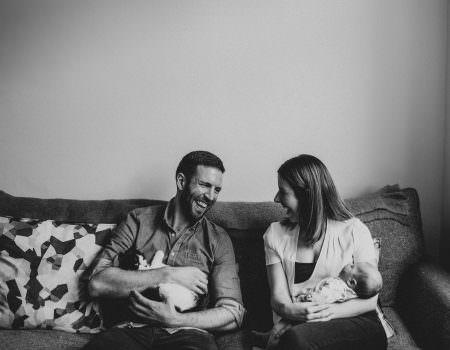 relaxed family photos