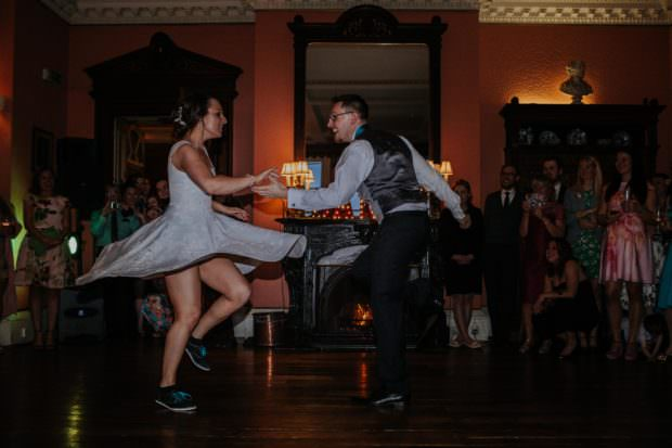 Swing Dancer Wedding