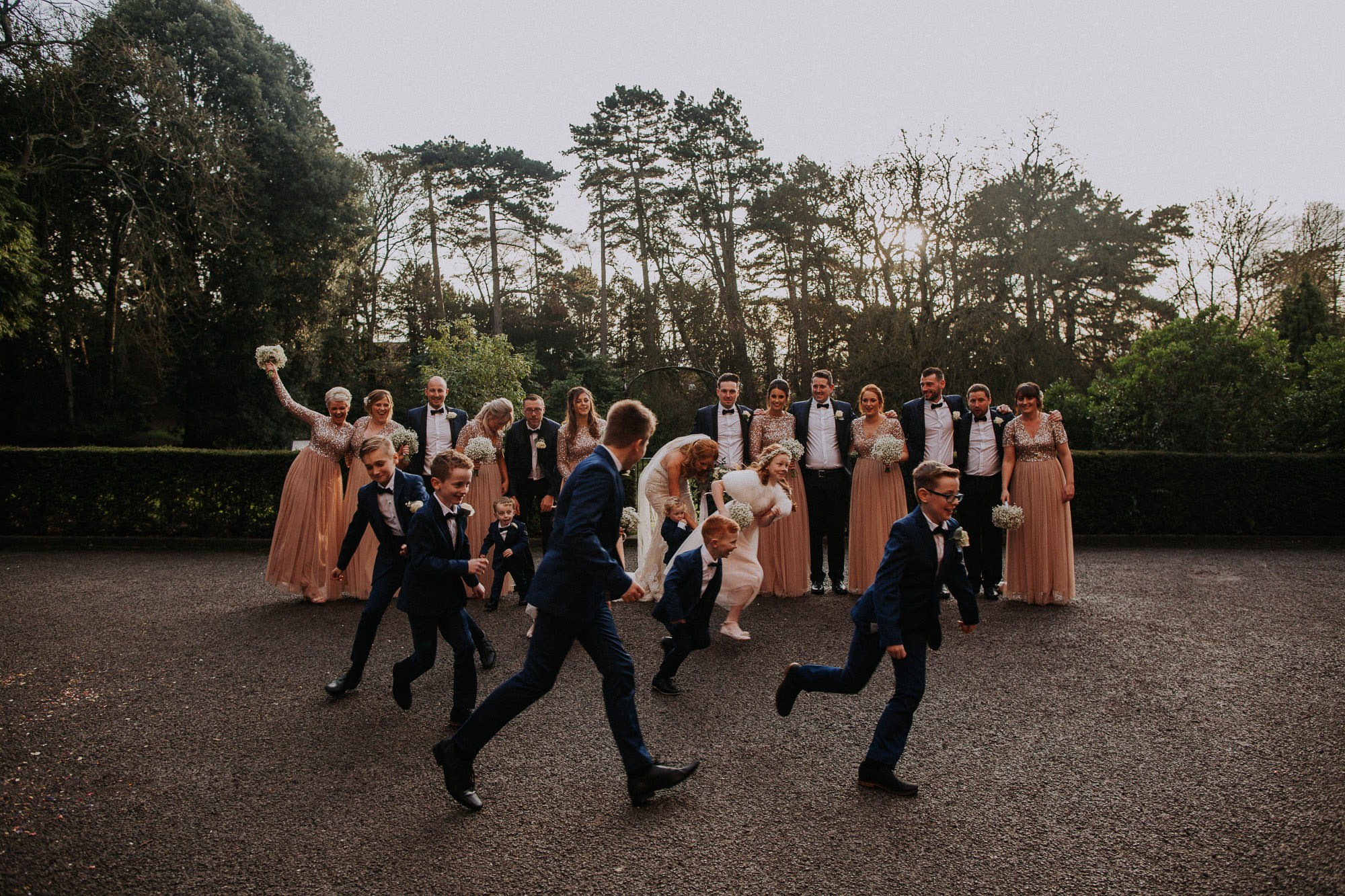 Brownsover Hall Winter Wedding