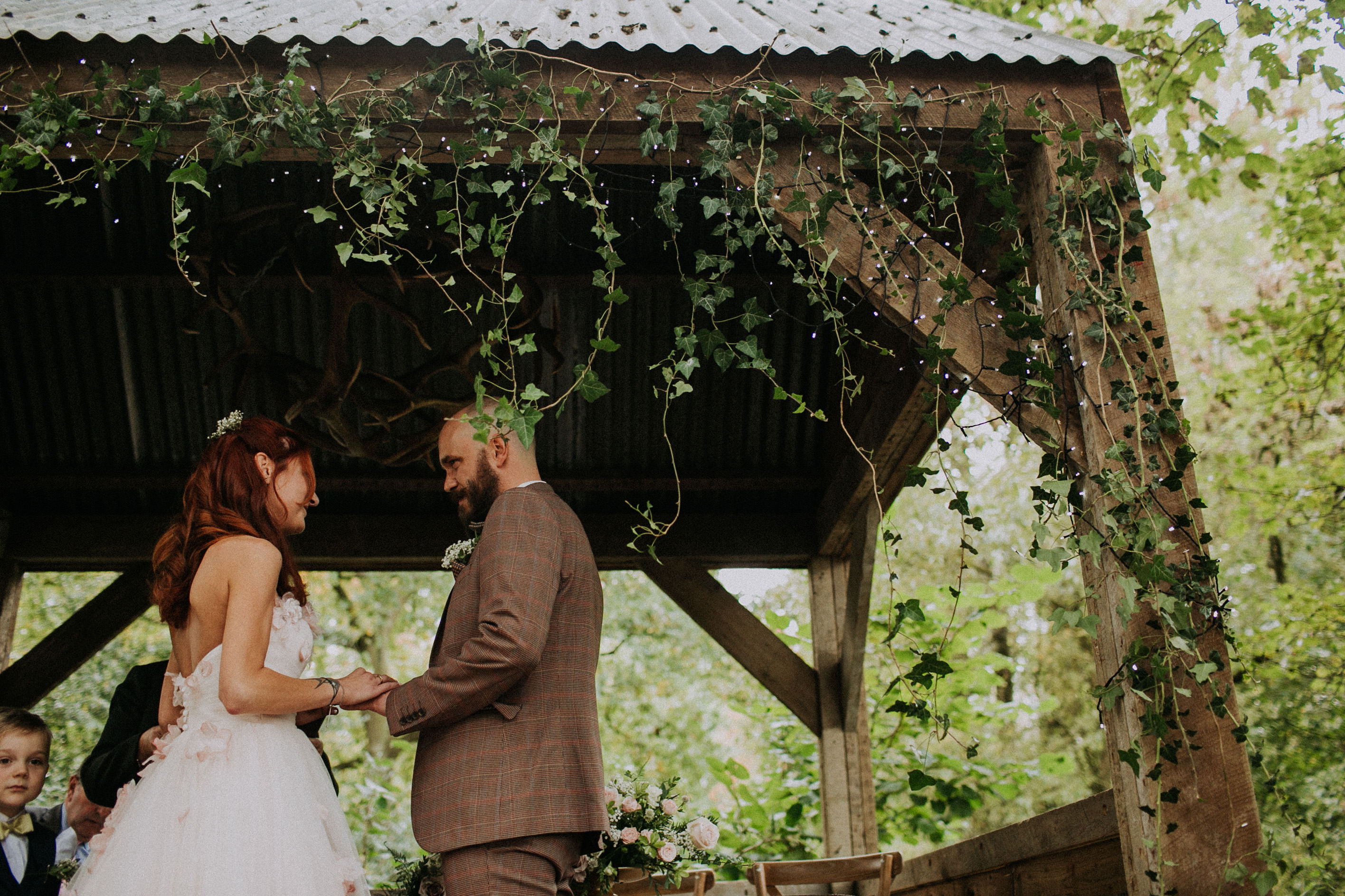 Woodland Autumnal Wedding