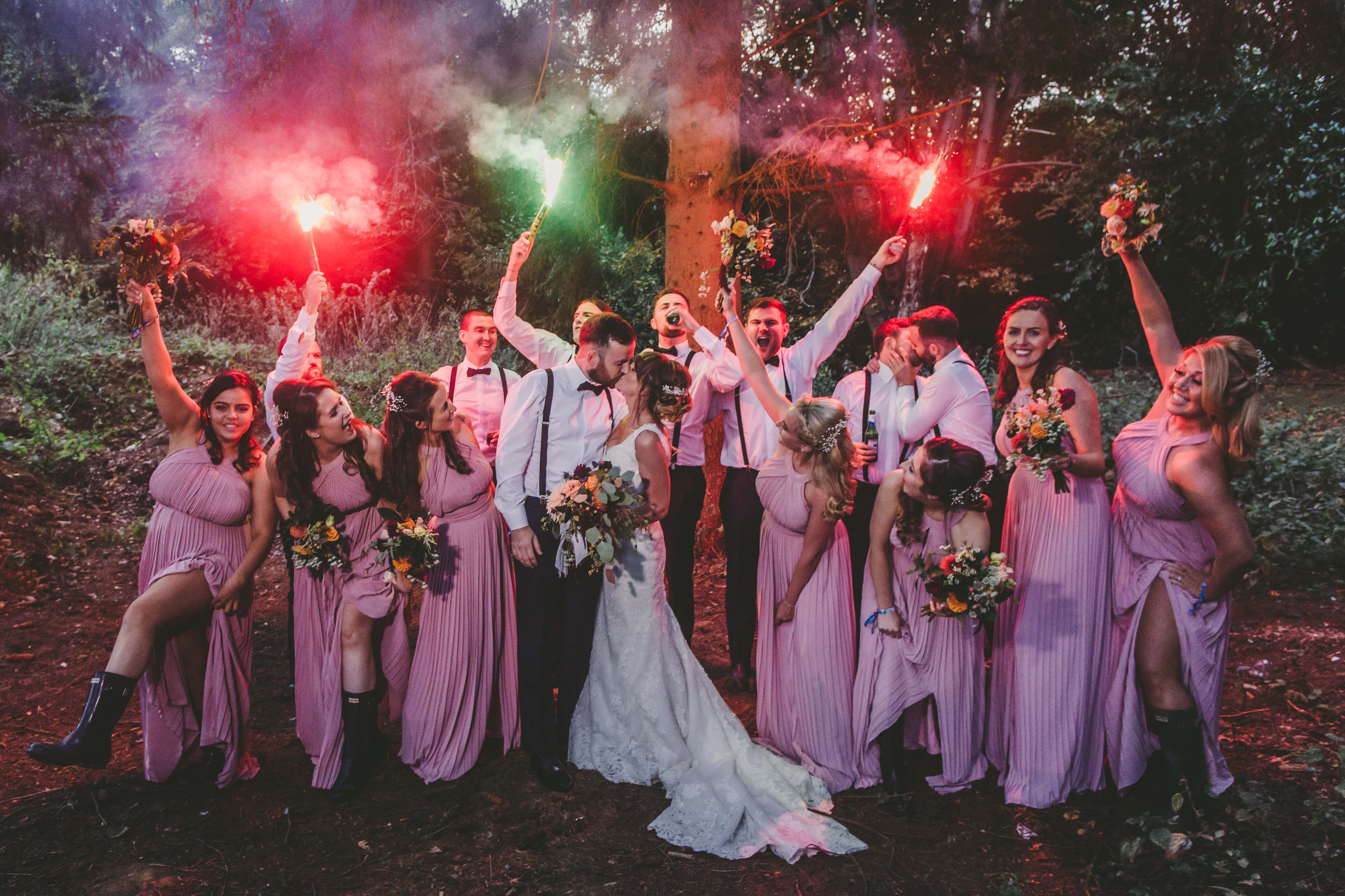 Tipi Festival Wedding – Vanstone Garden Centre