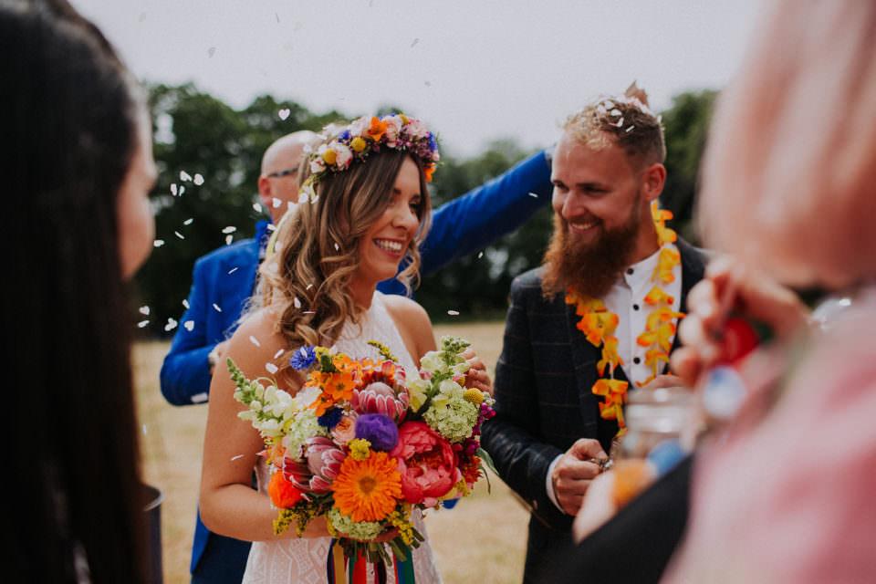tiki tipi festival wedding