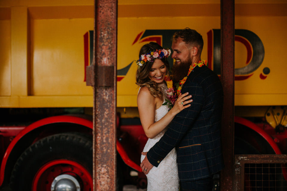 colourful wedding photos