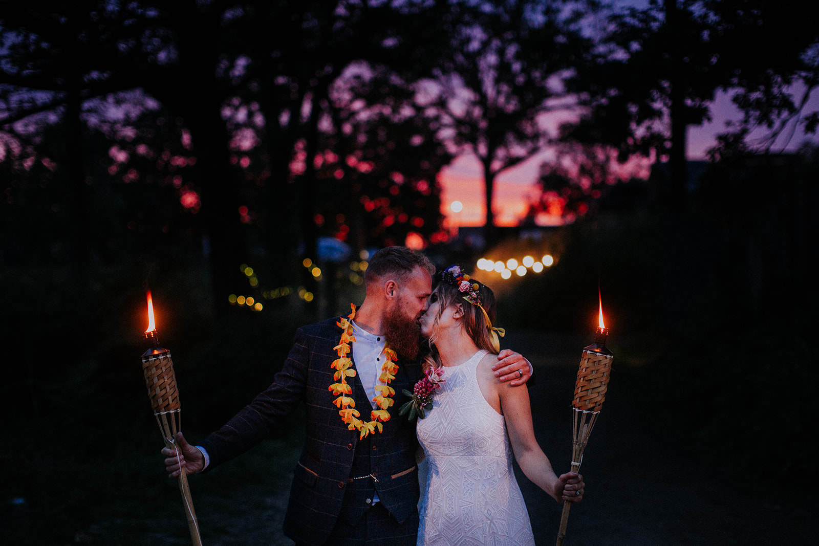 Tiki Tipi Festival Wedding