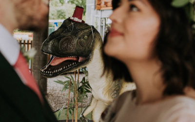 Surprise Wedding In Stratford…With Dinosaurs!