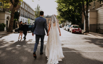 A Faceless London Wedding
